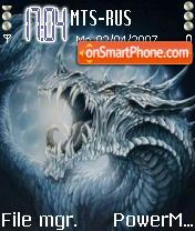Dragon 02 theme screenshot