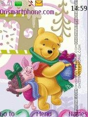 Winnie The Pooh 12 theme screenshot