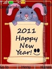 Скриншот темы Happy New Year 2014