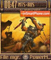 Conan The Barbarian theme screenshot