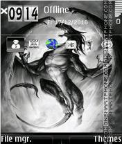 Dragon 19 theme screenshot
