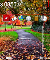 Autumn Colours 01 theme screenshot