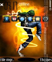Electronic dance es el tema de pantalla