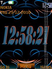 Abstrakt Clock(AR) es el tema de pantalla