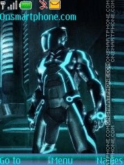 Tron Legacy Menu theme screenshot