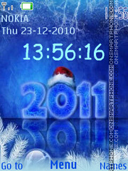 2011 Blue theme screenshot
