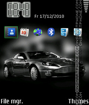 Aston Martin 12 theme screenshot