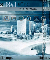 Winter 13 theme screenshot