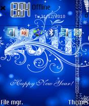 New Year Enjoy es el tema de pantalla