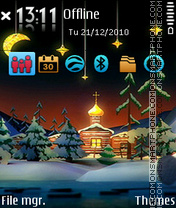 Christmas 06 tema screenshot