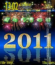 Скриншот темы New Year 2011 03