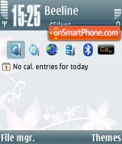 Frozen Plus theme screenshot