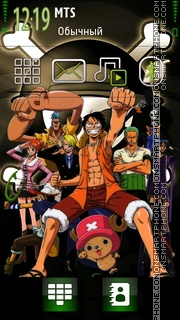 One Piece 08 theme screenshot