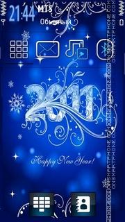 2011 New Year theme screenshot