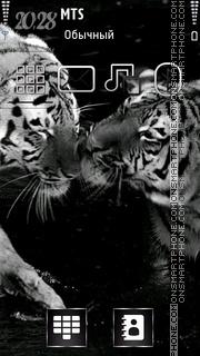 Grey Tigers theme screenshot