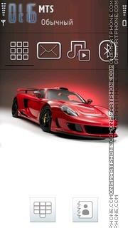 Скриншот темы Cool Porsche 01