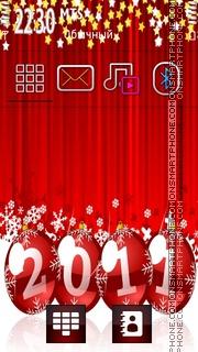 New Year 2011 04 theme screenshot