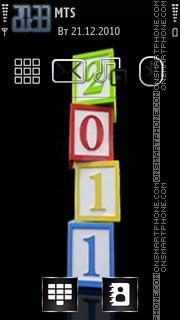 Year2011 theme screenshot