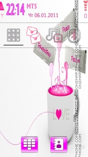 Love Cup theme screenshot