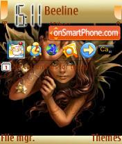 Elf theme screenshot
