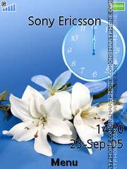 Blanching lily es el tema de pantalla