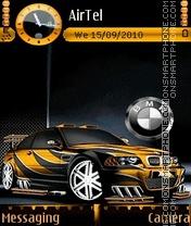 Bmw RAce Car 2010 theme screenshot