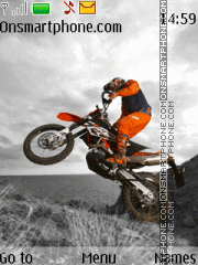 KTM Racing theme screenshot