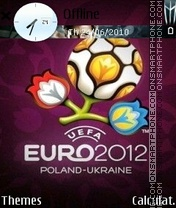 Скриншот темы Euro 2012