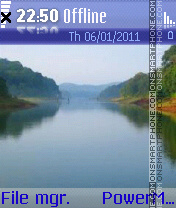 Amajola river theme screenshot