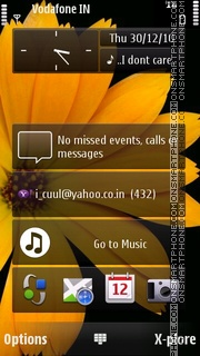 Скриншот темы Omnia HD v1.02 S^3/s60v5