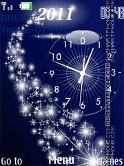 Holiday clock tema screenshot