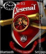 Arsenal 2011 theme screenshot