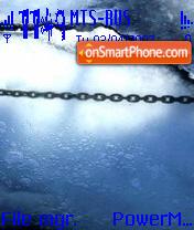 Скриншот темы Ice
