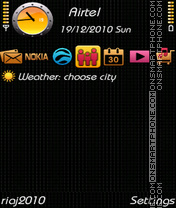NEW BLACK 2011 tema screenshot
