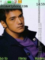 Скриншот темы Takeshi Kaneshiro