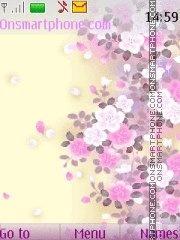 Скриншот темы Flowers2