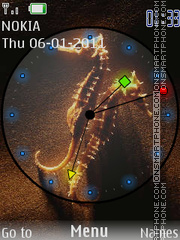 Gold hors theme screenshot