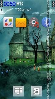3d Work theme screenshot