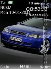 Capture d'écran Opel thème
