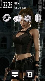 Lara Croft 07 tema screenshot