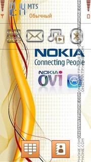 Nokia Gold 01 es el tema de pantalla