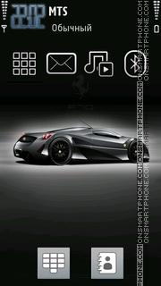 Capture d'écran Ferrrari F70 thème
