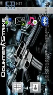 Counter-strike es el tema de pantalla