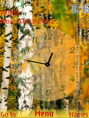 Birch theme screenshot
