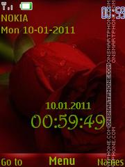 Red Rose theme screenshot