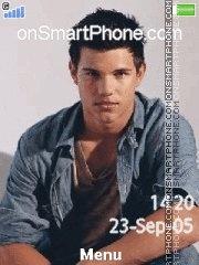 Capture d'écran Taylor Lautner thème