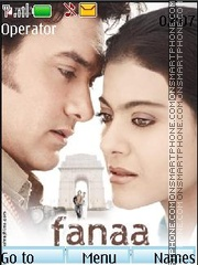 Fanaa theme screenshot