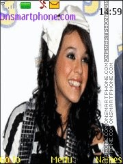 Danna Paola theme screenshot