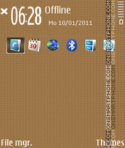 Dots Mocha theme screenshot