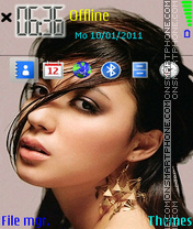 Michelle Branch 01 theme screenshot